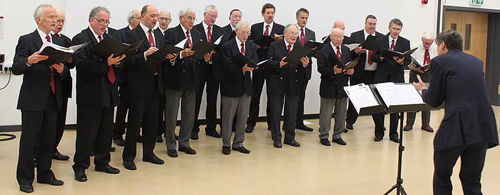 Male Voice Choir invites people to open rehearsal