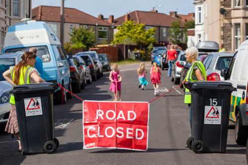 Road closures on offer as part of children's play initiative