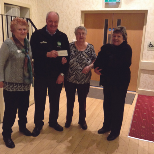 Townswomen's Guild in charity donation