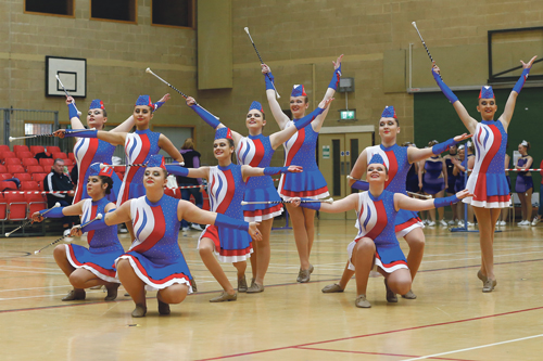 More gold for twirlers
