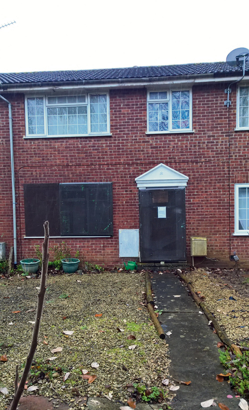 House evict Yate
